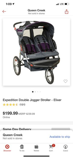 Babytrend Double Stroller BRAND NEW for Sale in Queen Creek, AZ
