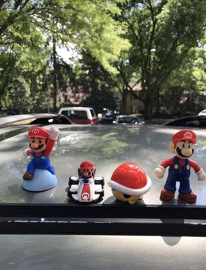 mario figurine set for Sale in Palatine, IL