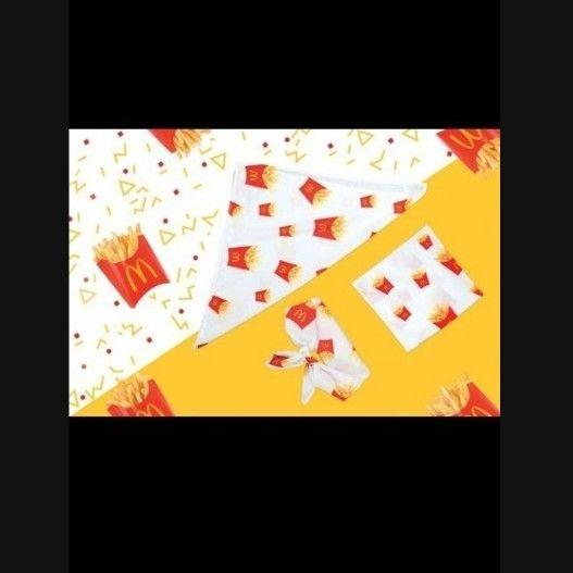 Uber eats promo McDonald's Covid Bandana