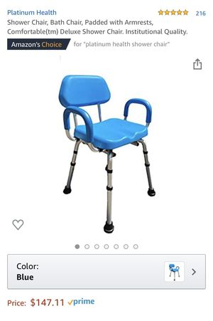 Brand New Platinum Health Shower Chair, Bath Chair for Sale in Riverside, CA