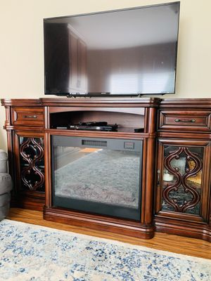 Fire place and tv stand for Sale in St. Louis, MO