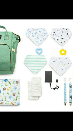 Diaperbag With USB port for Sale in Rock Hill, SC