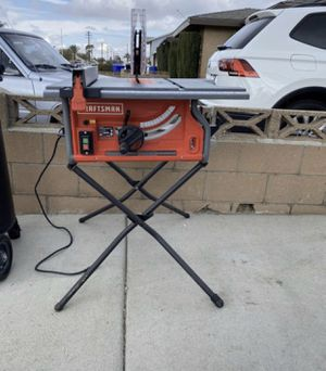 CRAFTSMAN TABLE SAW for Sale in Fontana, CA