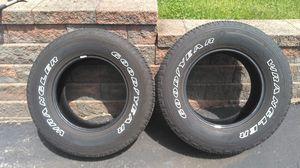 Goodyear Wrangler fortitude ht 265-70-17 Tires (2) for Sale in NEW KENSINGTN, PA