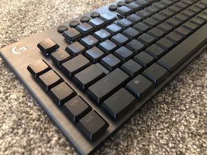 Logitech G915 Lightspeed Wireless RGB Mechanical Gaming Keyboard for Sale in Irvine, CA
