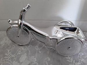 Aluminium tricycle statue or trinket holder for Sale in Dixon, CA