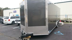 5x8 7x16 8.5x24 8.5x32 ENCLOSED VNOSE ALUMINUM TRAILERS for Sale in Sudbury, MA