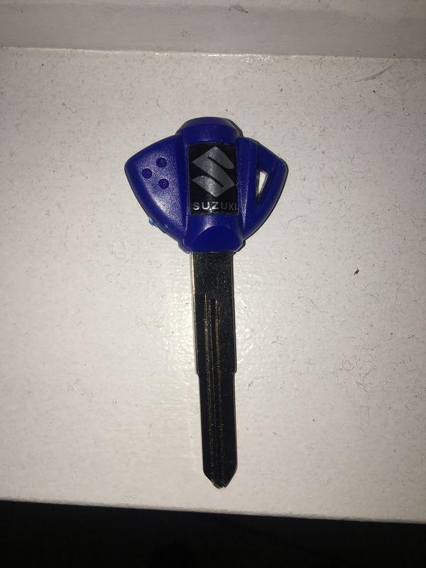 Suzuki motorcycle key never used