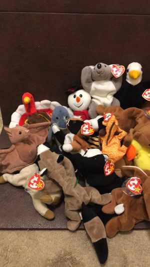 31 beanie babies some with tags and some without for Sale in Richmond, CA