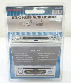 NEW NEXTAR NCD50 AM/FM RADIO FASEPLATE CD PLAYER AM/FM for Sale in Everett, WA