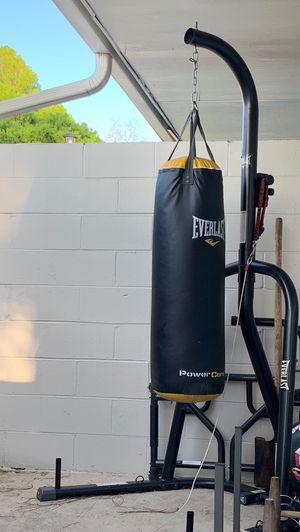 Punching bag for Sale in Tampa, FL