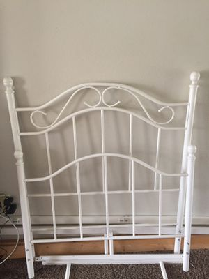 Twin metal bed frame for Sale in West Richland, WA