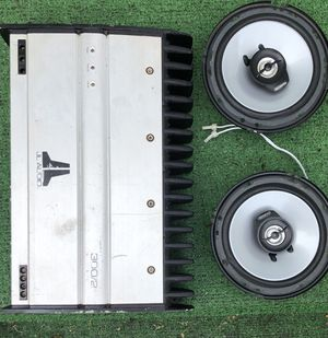 Amp and Speakers for Sale in Belleville, IL