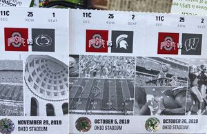 Buckeye Season tickets are in!!! for Sale in Whitehall, OH