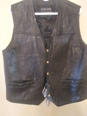 Motorcycle women's vest black patches included for Sale in NEW PRT RCHY, FL