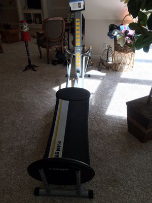 Total Gym FIT with videos and accessories for Sale in Waterloo, IL