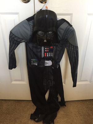 Darth Vader Costume kids size Medium for Sale in Ashburn, VA