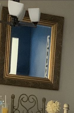 Mirror And Lamp for Sale in Silver Spring,  MD
