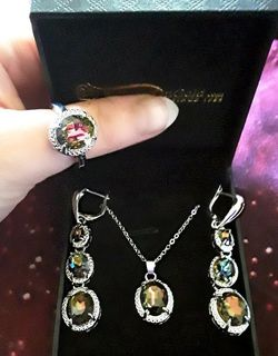 Mystic Topaz Jewelry Set for Sale in La Vergne,  TN