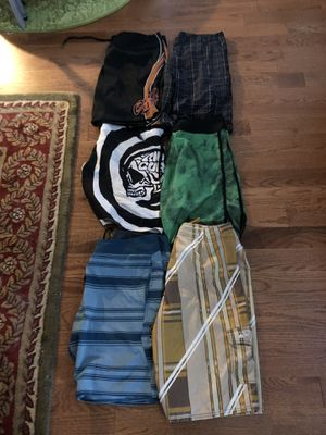Men's Board Shorts Bathing Suits - Lot of 6 total for Sale in Long Branch, NJ