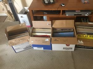 Various Stereo Equipment and 150 Misc. Vinyl LPs for Sale in Seminole, FL