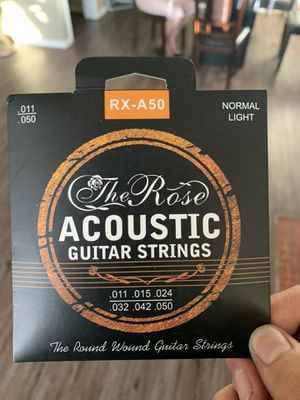 Guitar Strings/Cuerdas Para Guitarra for Sale in Rialto, CA