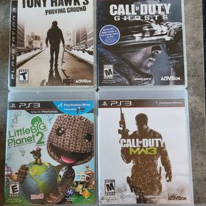 Playstation 3 Games for Sale in Vista, CA