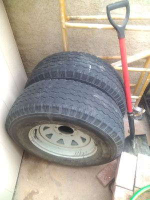 Trailer rims and tires for Sale in Mission Viejo, CA