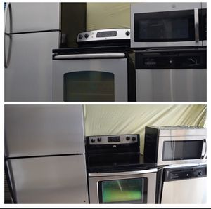 Stainless steel kitchen appliance sets for Sale in Winter Park, FL