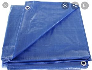 FREE blue tarp. Great for camping for Sale in Washington, DC