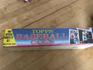 1989 Topps baseball cards set for Sale in Tustin, CA