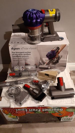 Dyson V7 Car+Boot Hand Held Cordless Vacuum New (Firm on Price) for Sale in Gardena, CA