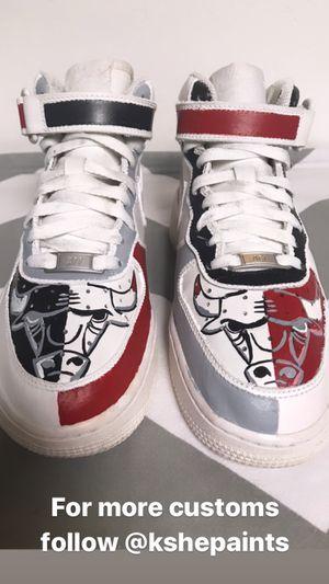 Custom Chicago Bulls AF1 for Sale in Salt Lake City, UT
