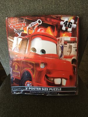 3 poster size puzzles for Sale in Cleveland, OH