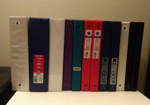 """12 Binders (0.5""""~2"""") OBO! for Sale in Bellevue, WA"""
