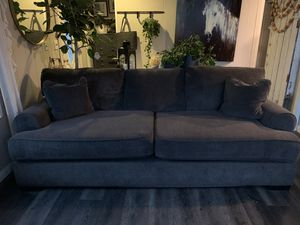 Jeromes dark grey couch for Sale in Corona, CA