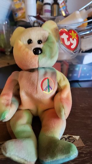 Ty Beanie Original Baby ''Peace'' for Sale in Vallejo, CA