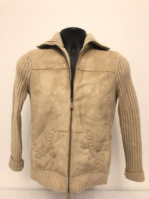 Size Petite Small Pm Ralph Lauren Woman's Wool Faux Shearling Cadigan Sweater for Sale in Davenport, FL