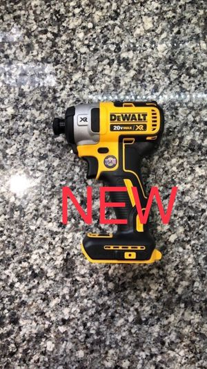 New Dewalt 20V MAX XR Brushless 3-Speed Impact Driver Cordless Power Tool, Tool Only for Sale in Hilliard, OH