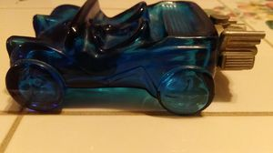 Blue buggy sport car decanster. Vintage for Sale in Rocky Mount, VA