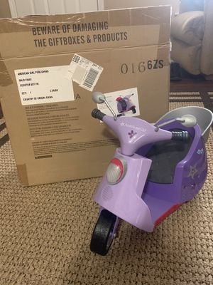 American girl doll scooter for Sale in Sanford, NC
