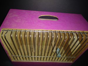 Pink single bird cage for Sale in Olivette, MO