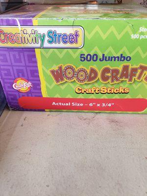 Craft sticks for Sale in Stockton, CA