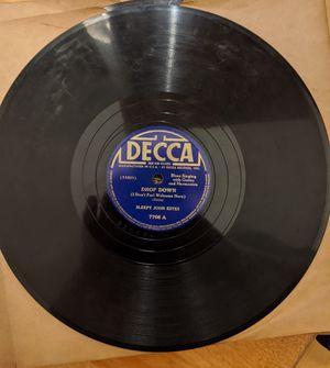 Sleepy John Estes Decca 7766 pre war blues 78 rpm for Sale in Cincinnati, OH