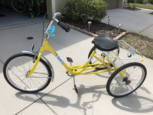 Adult Tricycle 24x1.75 tires. Almost new. Clean and ready to ride. for Sale in Tampa, FL