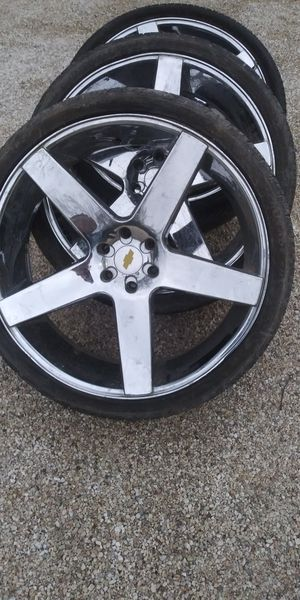 "26"" 6lug chevy wheels for Sale in Orange, TX"