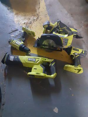 Ryobi power tools for Sale in Wyandotte, MI