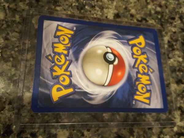 Pokemon Hitmonchan Holographic Card