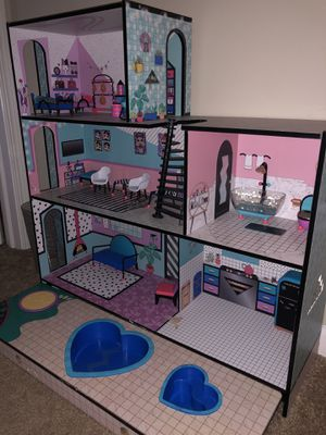 LOL doll house with furniture for Sale in Naperville, IL