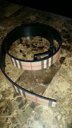 Burberry belt for Sale in Long Beach, CA